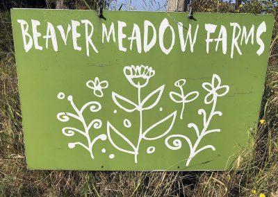 BMF Farm Sign