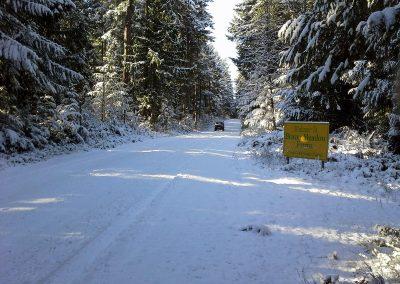 Winter on Beaver Meadow Farms